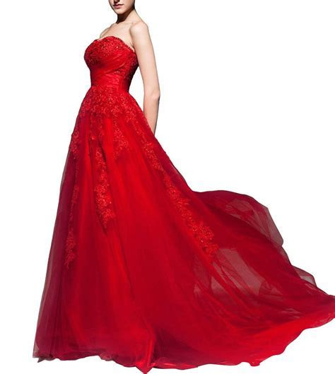 25 Red Wedding Dresses You?ll Absolutely Love (2018