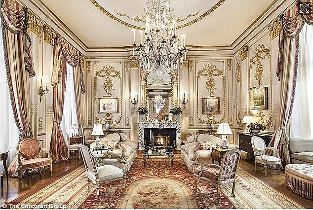 This is not how it looks now:The 65-year-old prince has been remodeling the property - a 5,100-square-foot, four-bedroom penthouse - since the purchase, and neighbors are 'shocked'