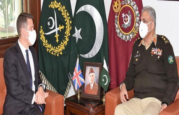 Pakistan wants to boost strategic ties with UK: COAS Bajwa   Daily Pakistan