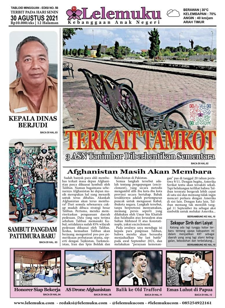 Tabloid Lelemuku Tanimbar