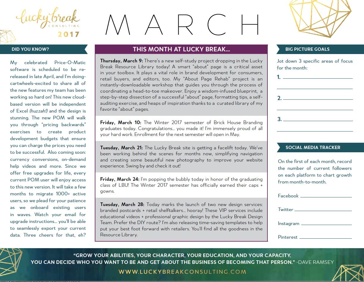 2017 Calendar March Break   2017 calendars