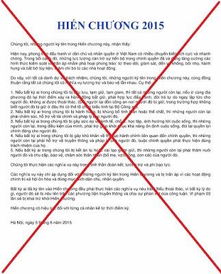 """Vì sao Đoan Trang đi tù (4): Chiêu bài """"hiến chương 2015"""" và thất bại giấc mơ """"hiến chương 77"""" cho Việt Nam"""