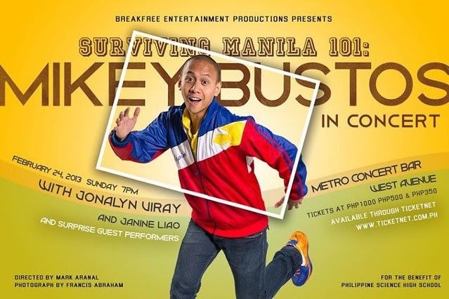 Mikey Bustos Concert