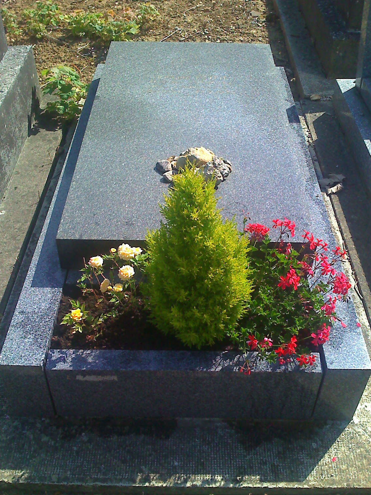 The grave of Joseph Roth