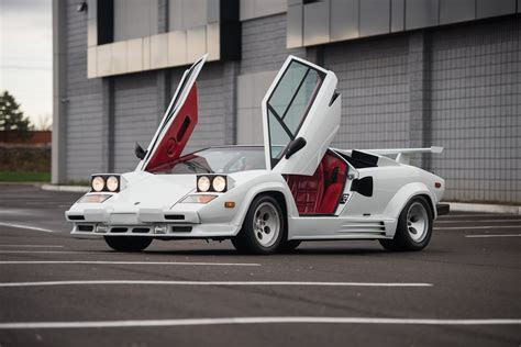 1988 Lamborghini Countach LP5000 S Quattrovalvole US spec Bertone supercar wallpaper   3600x2403