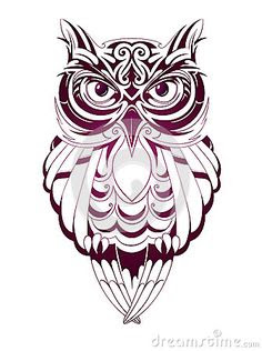 Tribal Owl Drawing At Getdrawingscom Free For Personal Use Tribal