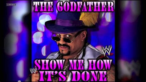 wwe  godfather  theme song show