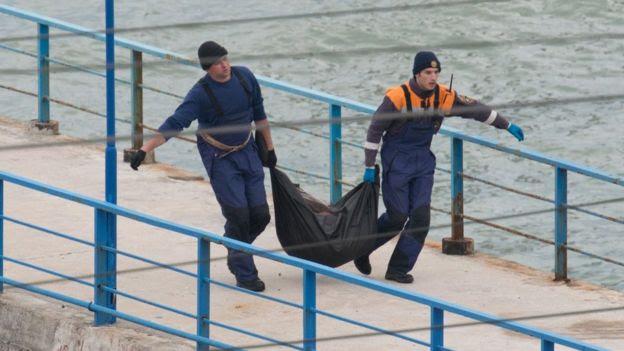 Equipe de emergência em Sochi