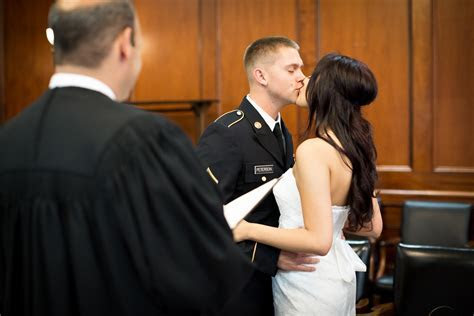 Courthouse Weddings   Marrying Later in Life