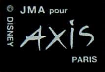 Axis Mickey Plate (Back logo)
