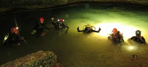 Jesús Calleja y su equipo descubren en Mallorca el mayor sistema subacuático de Europa