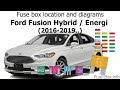 25+ 2017 Ford Fusion Fuse Box Diagram Pictures