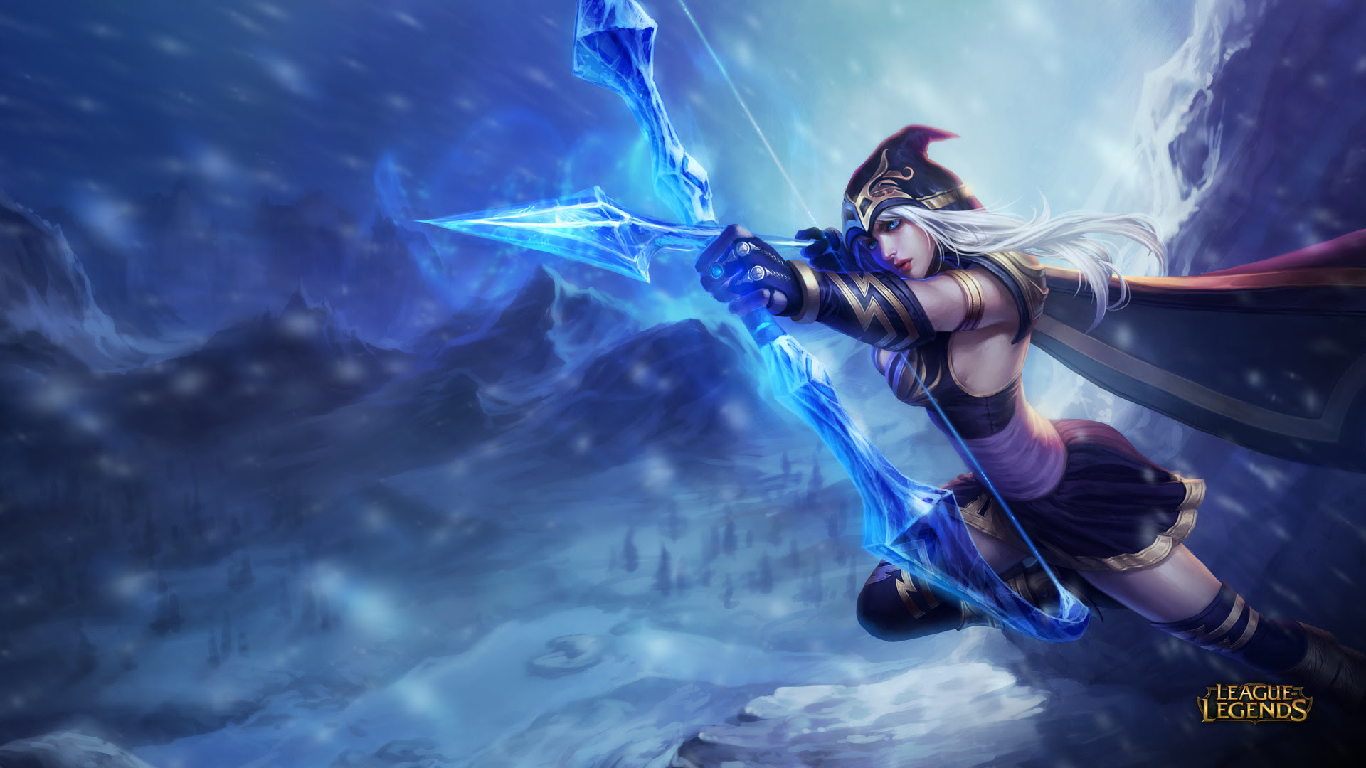 League Of Legends Ashe Wallpaper 81 Images