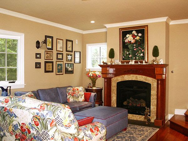 Decorating Corner Fireplace Mantel 8 Unique Ideas For Decorating A ...