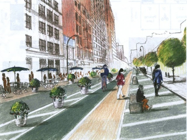 Union Square Pedestrian Plazas Part of Larger Refashioning of Broadway