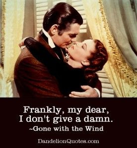 Gone With The Wind Movie Quotes. QuotesGram
