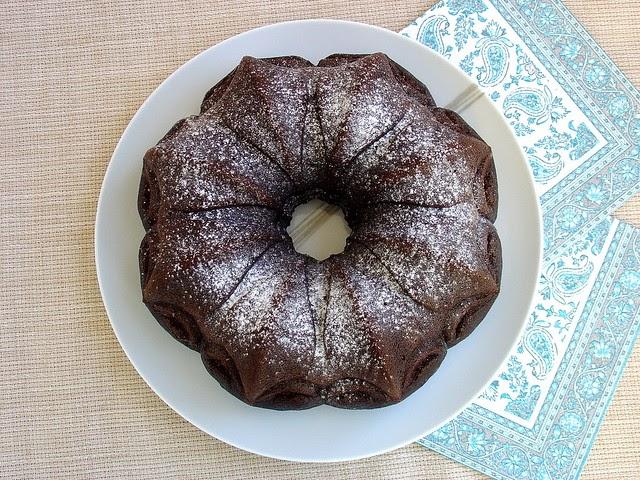 Nigella Chocolate Bundt Cake