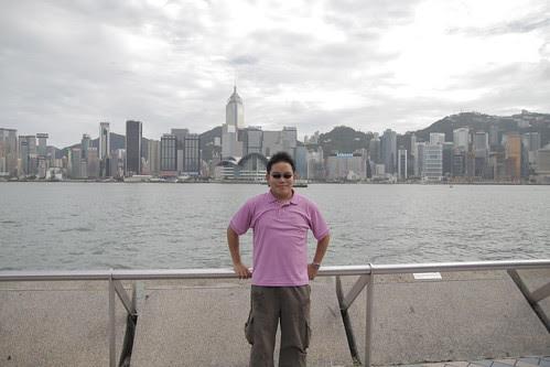 Me, at Hong Kong!