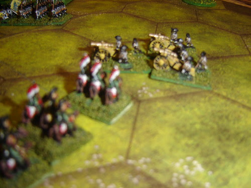 French lancers take Austrian guns