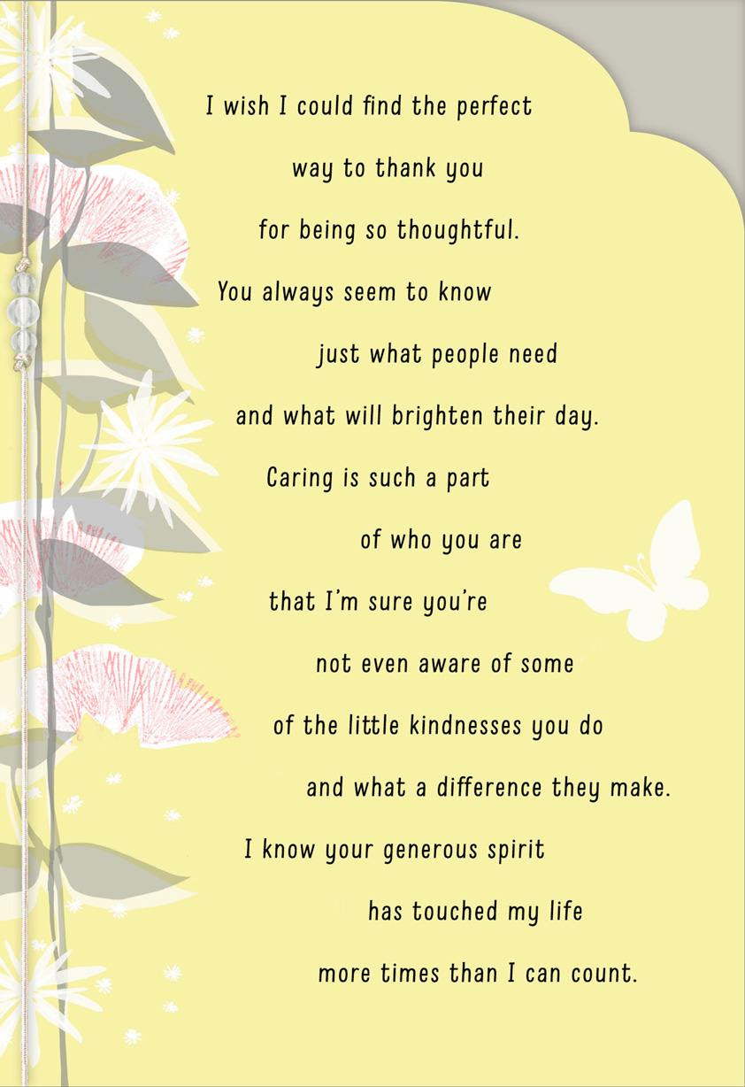 Your Kindness Means So Much Thank You Card Greeting Cards Hallmark