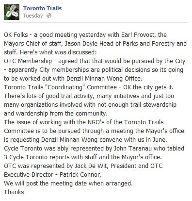 toronto trails committee