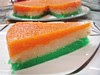 Indian TriColor Independence Day Halva Dessert