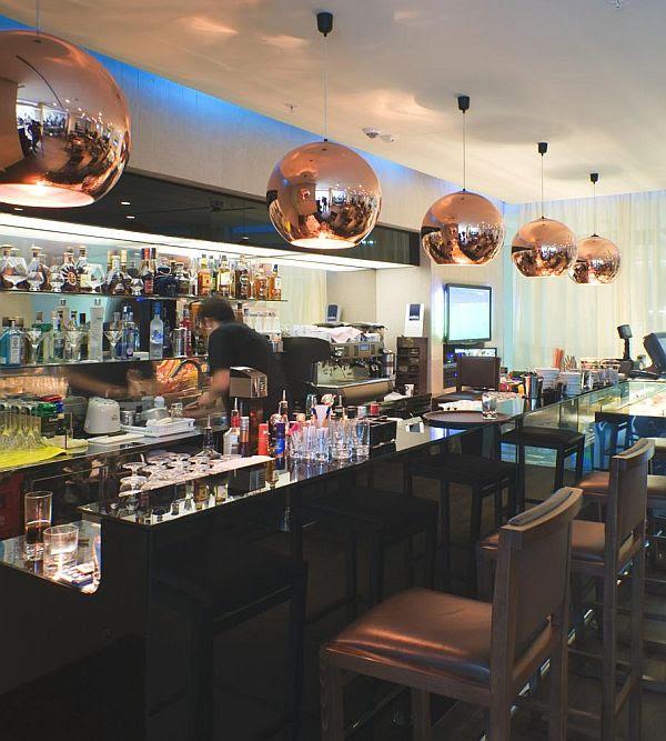 The Black Iris Café Interior Design in Montenegro