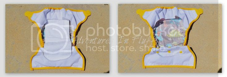 Swaddlebees Capri Diaper Cover Interior
