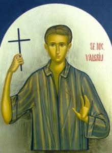 Icoană pictată de maici de la Mănăstirea Diaconești