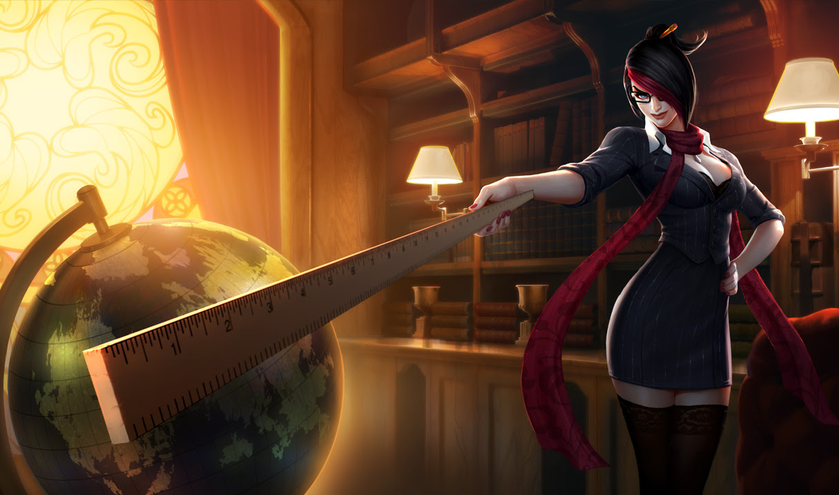 Headmistress Fiora Skin League Of Legends Wallpapers