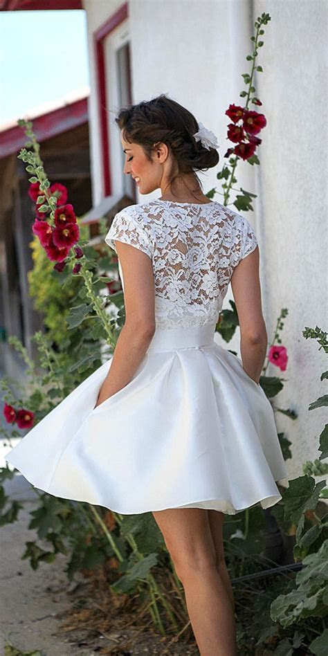 40 Prettiest Rehearsal Dinner Short Wedding Dresses ? Page