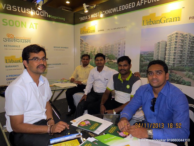 Vastushodh Projects' - www.vastushodh.co.in - UrbanGram www.urbangram.in - AnandGram www.anandgram.co.in - Pune Property Exhibition, Times Property Expo 'Investment Festival 2013', 23rd & 24th November 2013