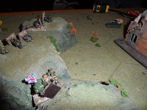 Firefight on the ridge