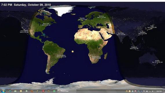 Live World Map Desktop Wallpaper - WallpaperSafari