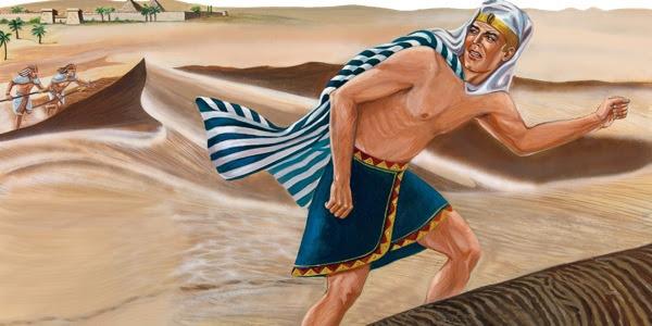 Resultado de imagem para Moisés fugindo do Egito
