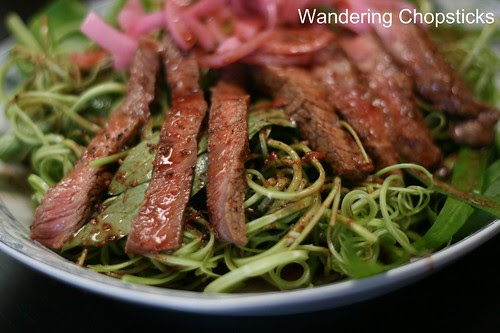 Xa Lach Thit Bo Rau Muong (Vietnamese Beef and Water Spinach Salad) 12