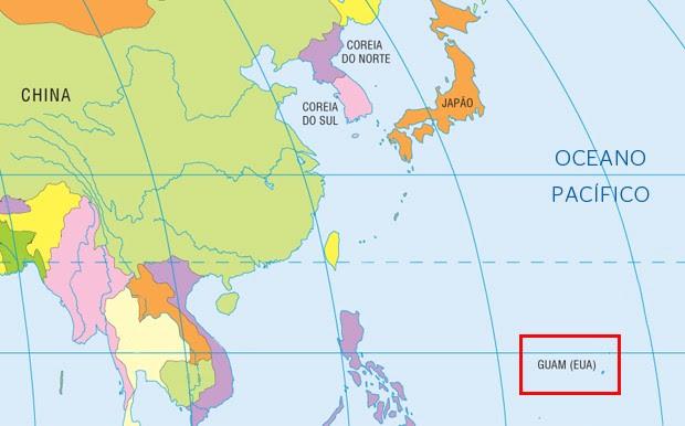Guam, território americano no Parífico. EUA instalará sistema antimísseis na ilha após novas ameaças da Coreia do Norte (Foto: ÉPOCA)