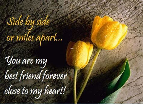 You Are Close To My Heart. Free Friends Forever eCards
