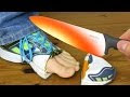 Red Hot 1000 Degree Knife Vs Shoe & More - Video