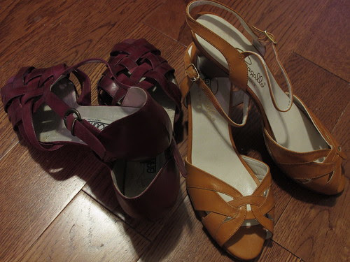 Vintage Bandolino and Pappagallo NOS Sandals
