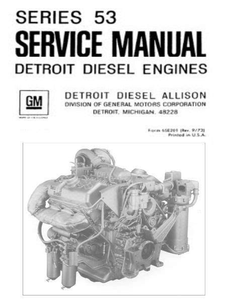 Detroit Diesel Allison Series 53 6v-53 Repair Service