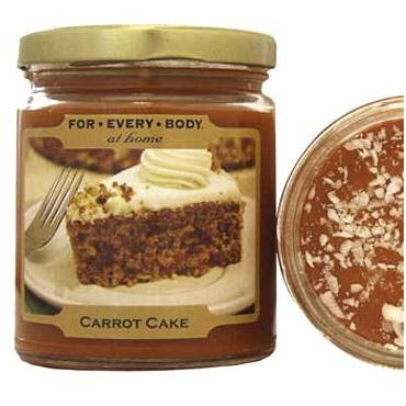 CARROT CAKE - Classic Home Baked 7oz Candle in Jar - For ...
