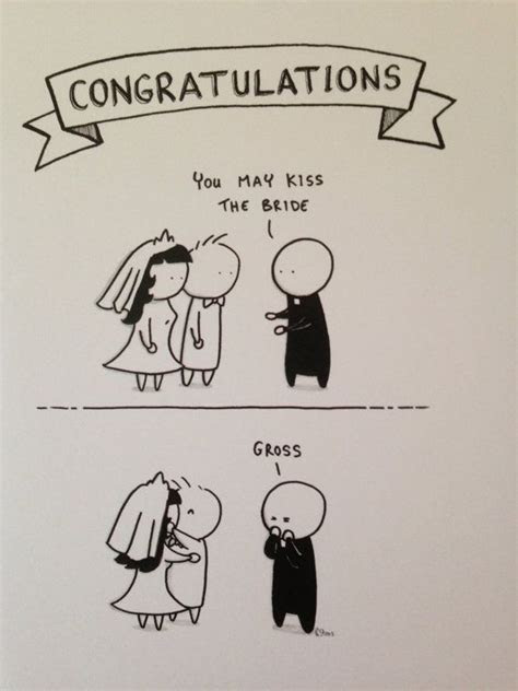 Wedding Card   You May Kiss The Bride   Funny greeting