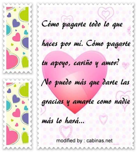 Frases De Agradecimiento De Amor Unifeed Club