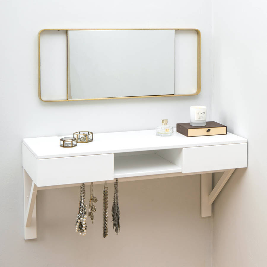 original_floating dressing table