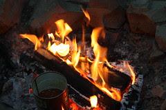 Dinnertime Campfire