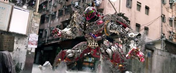 A man-made Transformer arrives on the scene in TRANSFORMERS: AGE OF EXTINCTION.