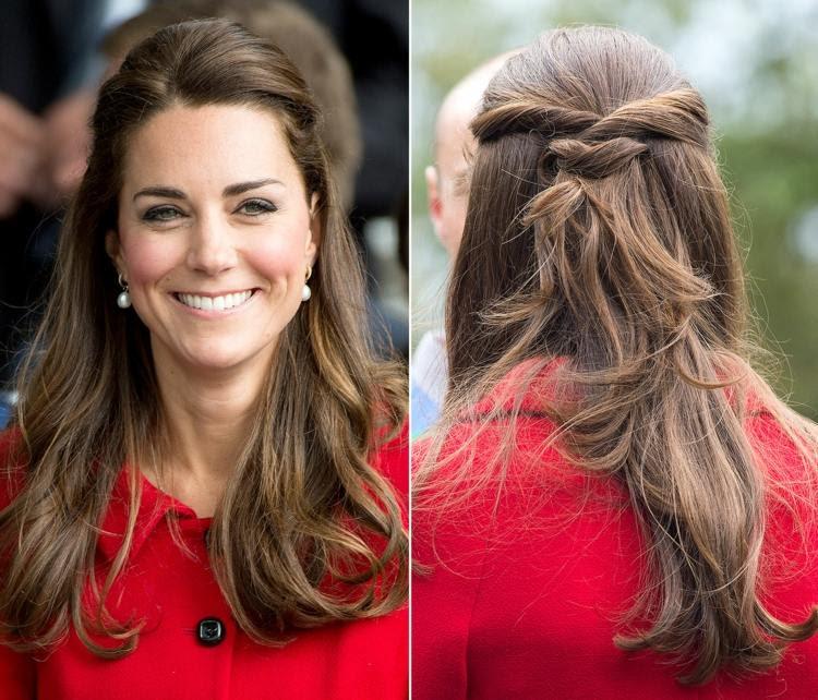 Frisur Kate Middleton Nachmachen Festliche Tinatasyajulia Blog