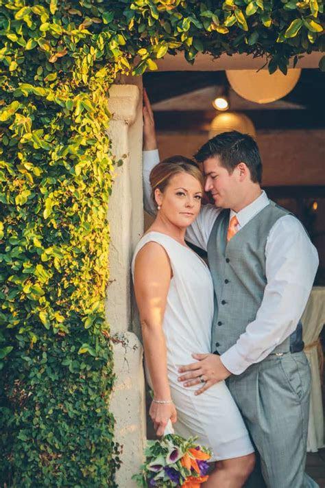 casual wedding  marina village  california