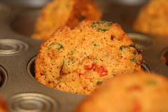 Savory Corn and Pepper Muffins (Tuesdays with Dorie)